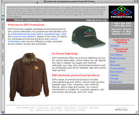 KSP Promotions Web site